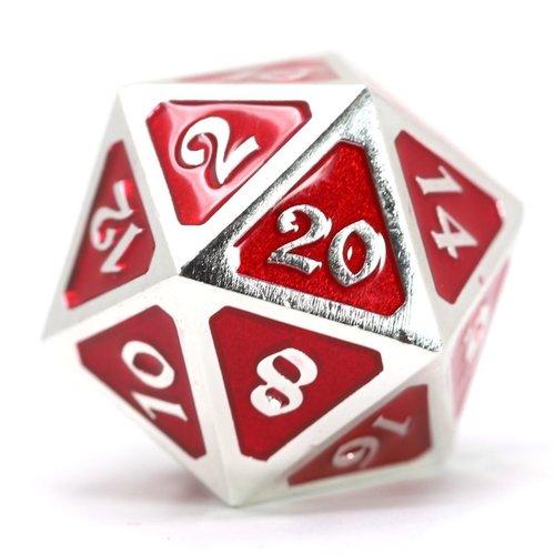 Die Hard Dice DIRE D20 - MYTHICA RUBY PLATINUM
