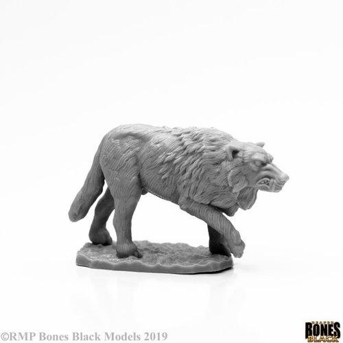 Reaper Miniatures BONES BLACK: WINTER WOLF