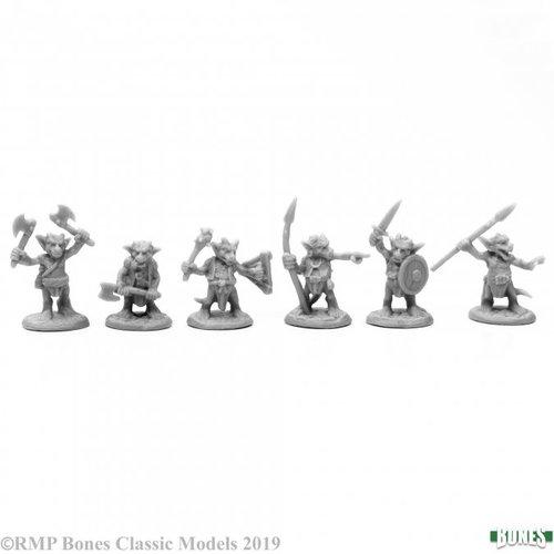 Reaper Miniatures BONES: KOBOLD MOOKS (6)