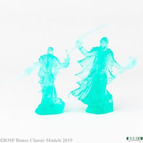 Reaper Miniatures BONES: WRAITH LORD & BODYGUARD