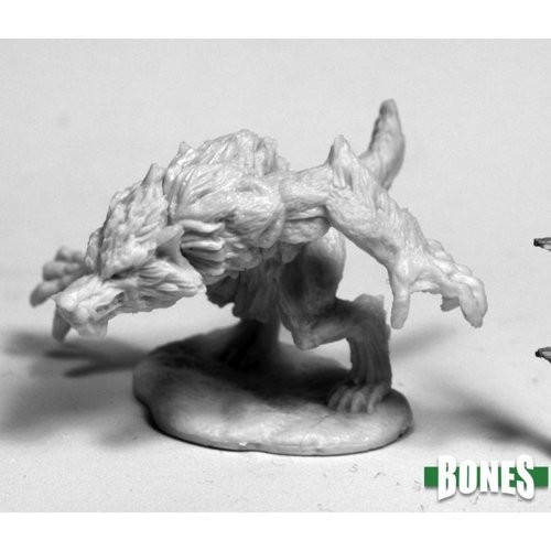 Reaper Miniatures BONES: WEREWOLF (CROUCHING)