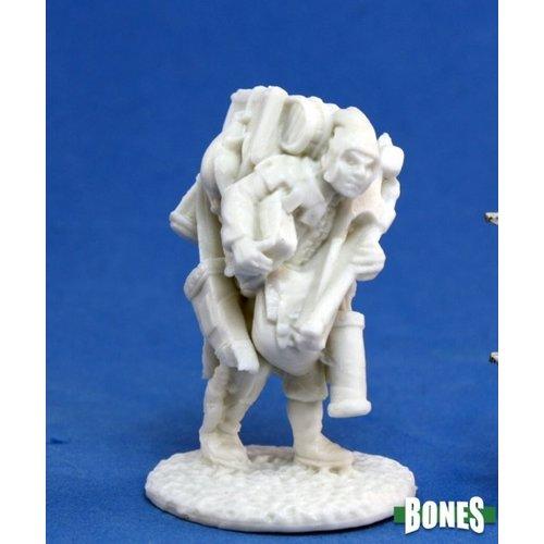 Reaper Miniatures BONES: TOWNSFOLK: OSWALD THE OVERLADEN
