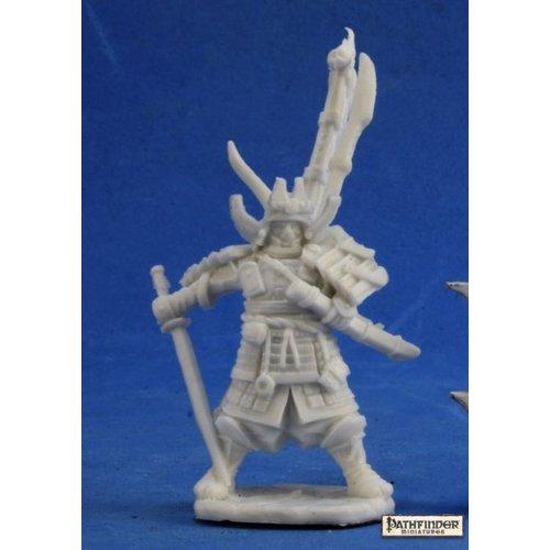 Reaper Miniatures BONES: PATHFINDER: NAKAYAMA HAYATO, ICONIC SAMURAI