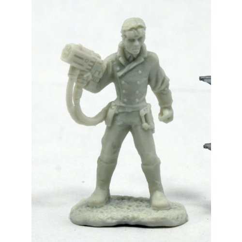 Reaper Miniatures BONES: SAVAGE WORLDS: DEADLAND NOIR PATENT SCIENTIST