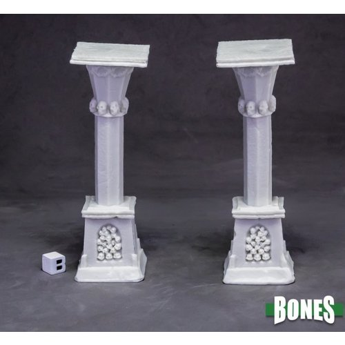 Reaper Miniatures BONES: GRAVEYARD COLUMN (2)