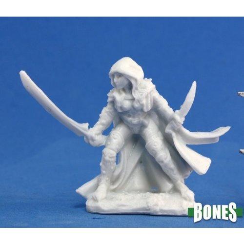 Reaper Miniatures BONES: DELADRIN FEMALE ASSASSIN