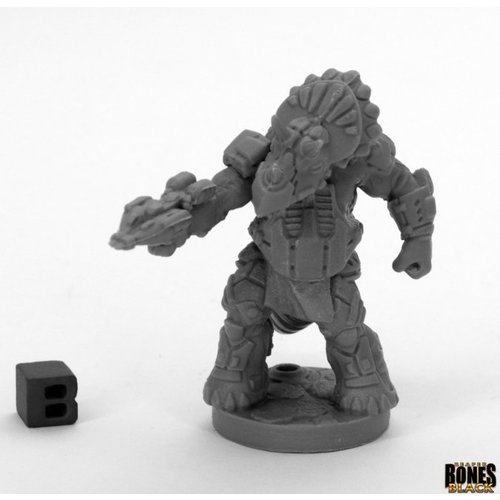 Reaper Miniatures BONES BLACK: THUNDERFOOT COMMANDER