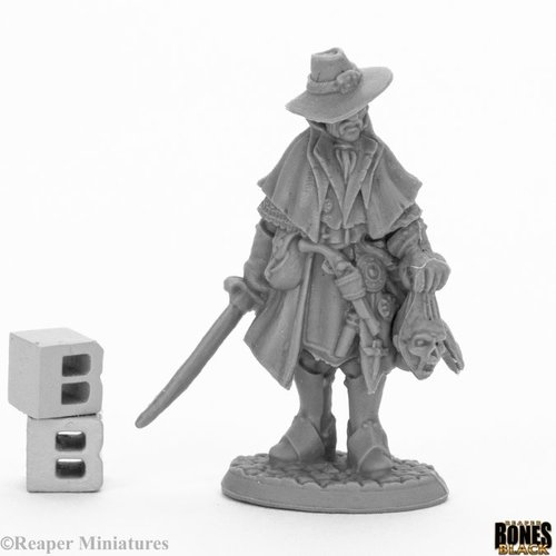 Reaper Miniatures BONES BLACK: TARA THE SILENT