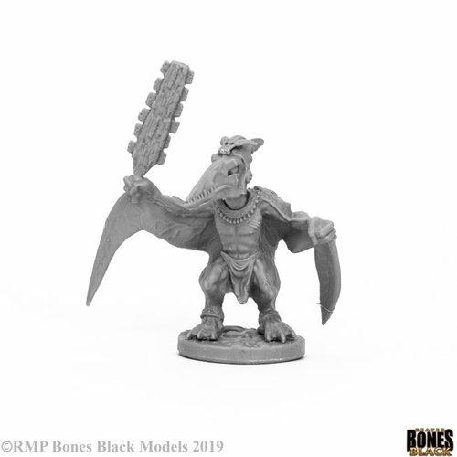 Reaper Miniatures BONES BLACK: SKYWING STORMCALL
