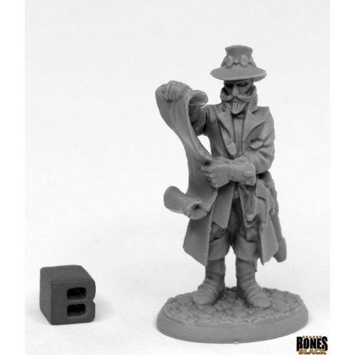 Reaper Miniatures BONES BLACK: SHERIF DRUMFASSER