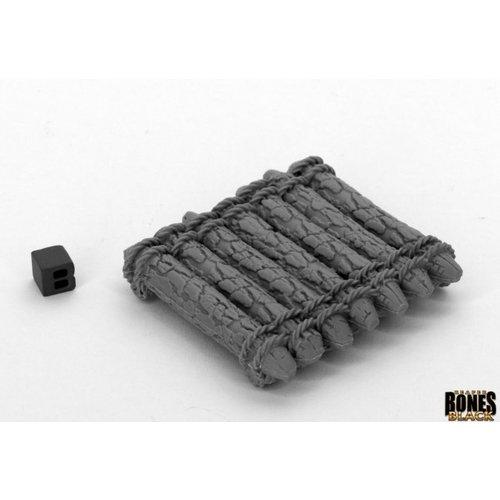 Reaper Miniatures BONES BLACK: RAFT