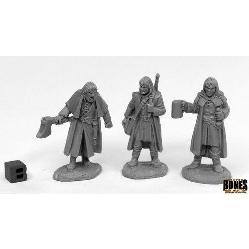 Reaper Miniatures BONES BLACK: DREADMERE MERCS