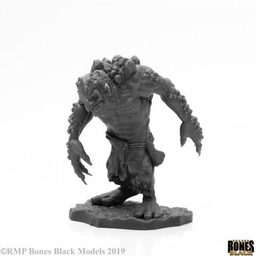 Reaper Miniatures BONES BLACK: ROCK TROLL