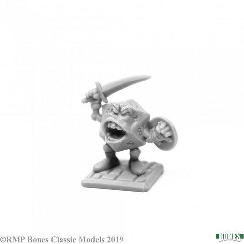 Reaper Miniatures BONES: SIR VIGINTOR, D20