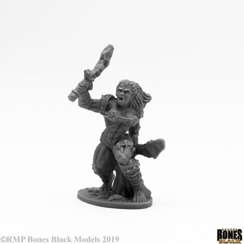 Reaper Miniatures BONES BLACK: JADE FIRE WARRIOR