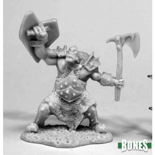 Reaper Miniatures BONES: ORC SLAYER (AXE & SHIELD)
