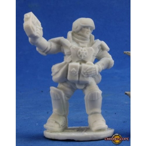 Reaper Miniatures BONES: CHRONOSCOPE: JIGSAW IMEF MEDIC