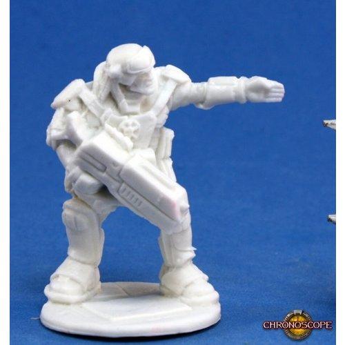 Reaper Miniatures BONES: CHRONOSCOPE: IMEF ERIK PROUDFOOT