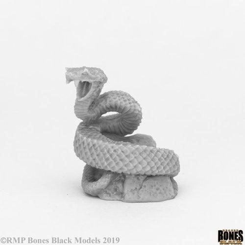 Reaper Miniatures BONES BLACK: GIANT SNAKE