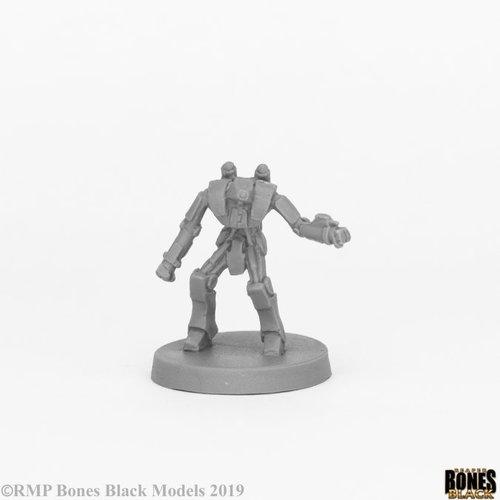 Reaper Miniatures BONES BLACK: XAIRBOT (MED)