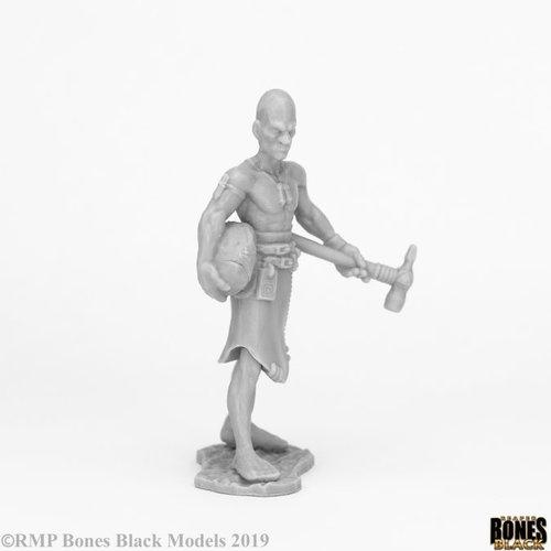 Reaper Miniatures BONES BLACK: STONE GIANT CARVER