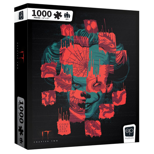 USAopoly US1000 IT CHAPTER TWO FACES OF PENNYWISE