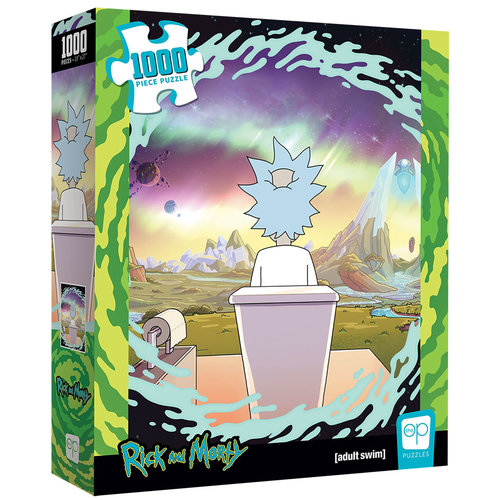 The Op | usaopoly US1000 RICK & MORTY SHY POOPER