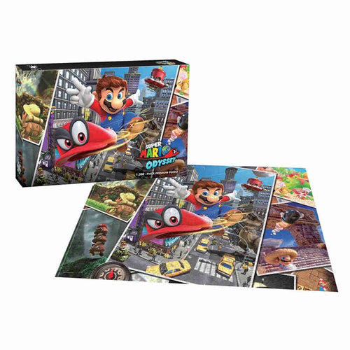 The Op | usaopoly US1000 SUPER MARIO ODYSSEY SNAPSHOTS