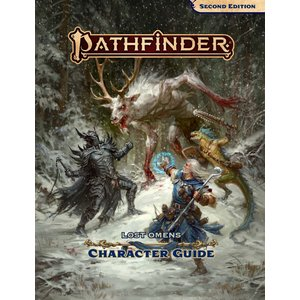 Paizo Publishing PATHFINDER 2ND EDITION: LOST OMENS - CHARACTER GUIDE