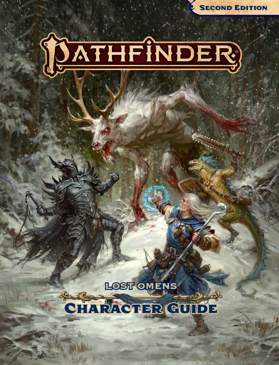 PATHFINDER 2ND EDITION: LOST OMENS - CHARACTER GUIDE - Games of Berkeley