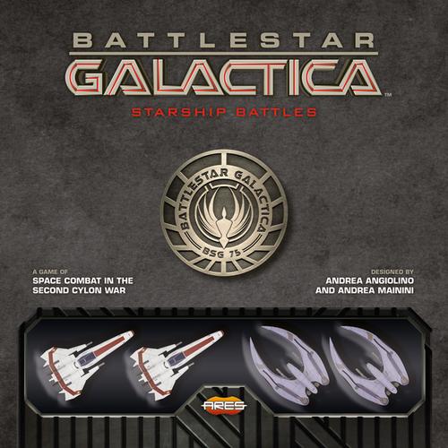 Ares Games BATTLESTAR GALACTICA: STARSHIP BATTLES Starter Set