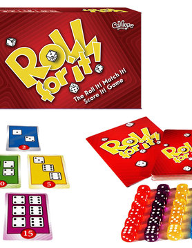 Calliope Games ROLL FOR IT! RED EDITION