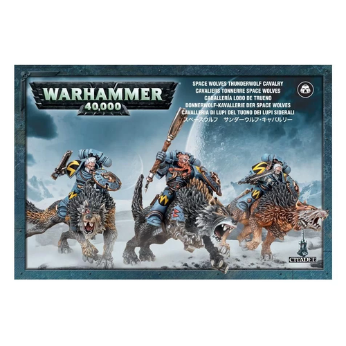 Games Workshop SPACE WOLVES THUNDERWOLF CAVALRY