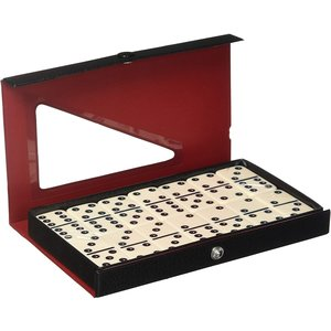 CHH QUALITY PRODUCTS DOMINOES DOUBLE 6 STANDARD IVORY