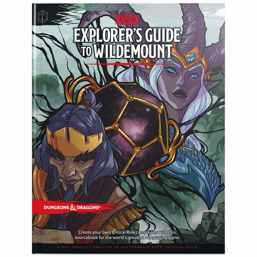 Wizards of the Coast D&D 5E: EXPLORER'S GUIDE TO WILDEMOUNT