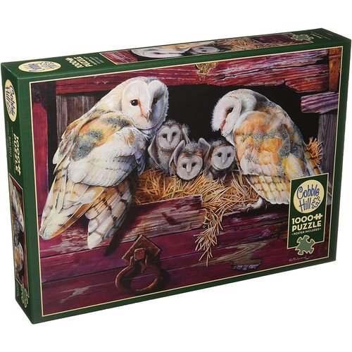 Cobble Hill CH1000 BARN OWLS
