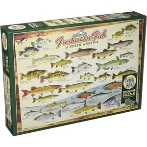Cobble Hill CH1000 FRESHWATER FISH OF NORTH AMERICA