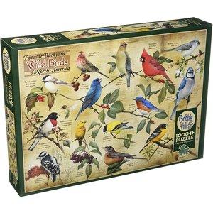 Cobble Hill CH1000 POPULAR BACKYARD WILD BIRDS OF NORTH AMERICA