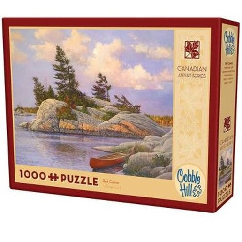 Cobble Hill CH1000 RED CANOE