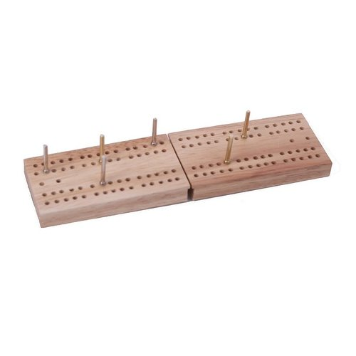 JOHN HANSEN COMPANY CRIBBAGE FOLDING TRAVEL