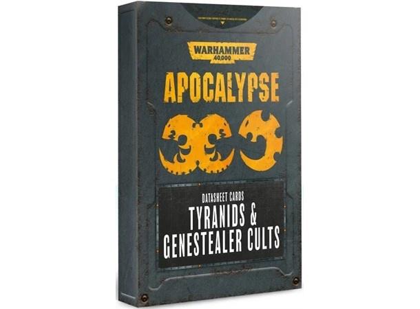 Games Workshop 40K APOCALYPSE TYRANIDS D/SHEET