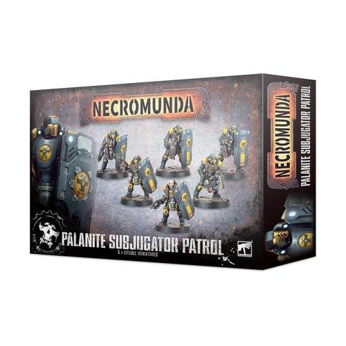 Games Workshop NECROMUNDA: PALANITE SUBJUGATOR PATROL