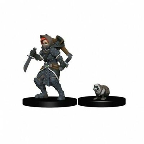 Wizkids MINIS: WARDLINGS: GIRL ROGUE & BADGER