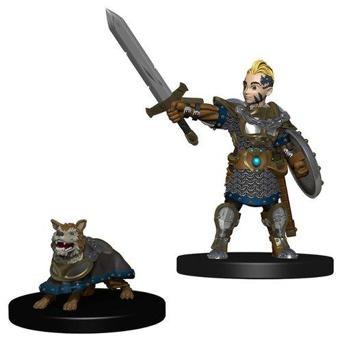 Wizkids MINIS: WARDLINGS: BOY FIGHTER &  BATTLE DOG