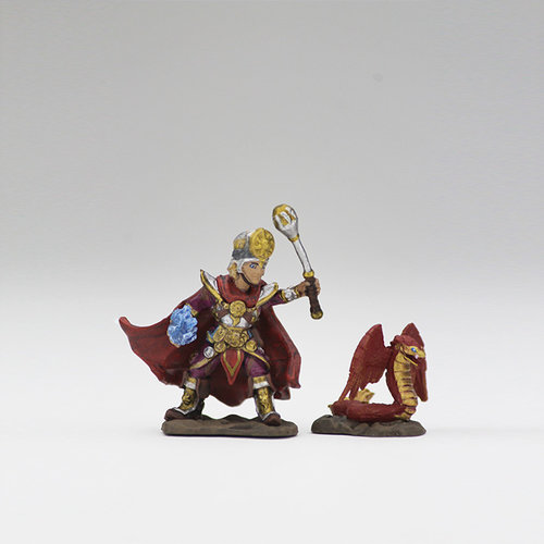 Wizkids MINIS: WARDLINGS: BOY CLERIC & WINGED SNAKE