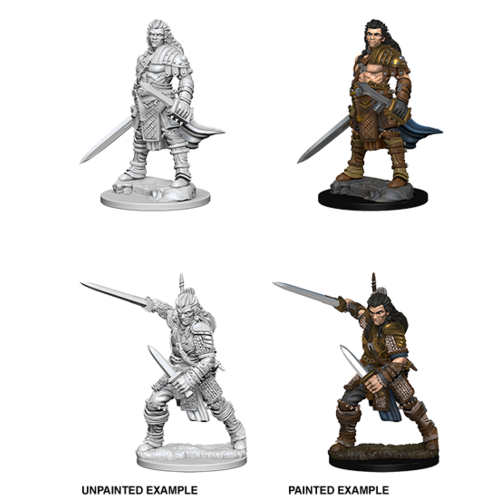 Wizkids MINIS: PF: HUMAN MALE FIGHTER