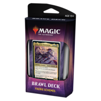 MTG: THRONE OF ELDRAINE BRAWL DECK - FAERIE SCHEMES - ALELA