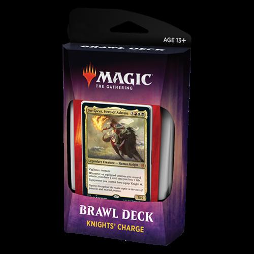 Wizards of the Coast MTG: THRONE OF ELDRAINE BRAWL DECK - KNIGHTS' CHARGE - SYR GWYN