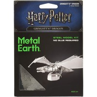 3D METAL EARTH HARRY POTTER GRINGOTTS DRAGON