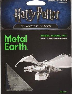 FASCINATIONS TOYS 3D METAL HP GRINGOTTS DRAGON